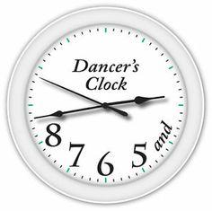dancers-clock